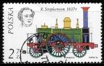 Sellos del Mundo : Europa : Polonia : Robert Stephenson, 1837