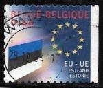 Sellos del Mundo : Europa : Bélgica : Union Europea - Estonia