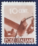 Sellos de Europa - Italia -  Alegorias