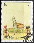 Sellos del Mundo : Asia : Emiratos_Árabes_Unidos : Niño peruano