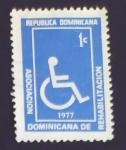 Sellos de America - Rep Dominicana -  Rehabiliatacion