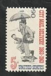 Sellos del Mundo : America : Estados_Unidos :  754 - Centº de la distribucion del correo a domicilio