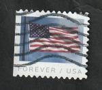 Sellos del Mundo : America : Estados_Unidos : 5183 - Bandera Nacional