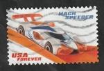 Sellos del Mundo : America : Estados_Unidos : 5163 - Mach Speeder