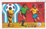 Sellos del Mundo : Asia : Corea_del_norte : MUNDIAL ARGENTINA'76