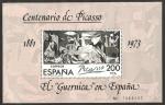 Sellos del Mundo : Europa : España : Centº de Picasso, El Guernica en España