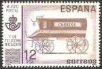 Sellos de Europa - España -  2638 - Museo Postal y de Telecomunicación, Furgón de correo del siglo XIX