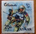 Sellos del Mundo : Asia : Jordania : Astronauta