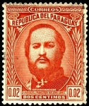 Sellos del Mundo : America : Paraguay : Mariscal Francisco Solano López.
