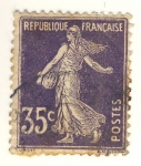 Sellos de Europa - Francia -  Semuese Camée
