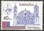 Sellos del Mundo : Europa : España :  2782 - Catedral de La Habana en Cuba