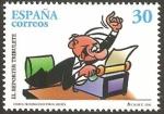 Sellos del Mundo : Europa : España : 3436 - El Reportero Tribulete, personaje de tebeo