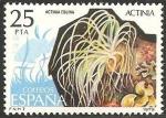 Sellos del Mundo : Europa : España : 2535 - fauna invertebrados, actinia