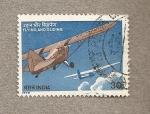 Sellos de Asia - India -  Planeadores