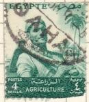Sellos del Mundo : Africa : Egipto : agricultura