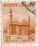 Sellos del Mundo : Africa : Egipto : palacio
