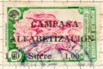 Sellos de America - Ecuador -  alfavetizacion