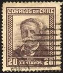 Sellos de America - Chile -  Presidente MANUEL BULNES PRIETO.