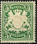 Sellos de Europa - Alemania -  Baviera