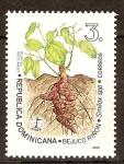 Sellos del Mundo : America : Rep_Dominicana :  Plantas medicinales