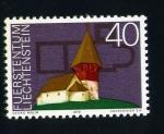 Sellos de Europa - Liechtenstein -  serie- Edificios característicos