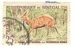 Sellos del Mundo : Africa : Senegal : parque nacinal de NIOKOLO-KOBA