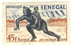 Sellos del Mundo : Africa : Senegal : juego del falso leon