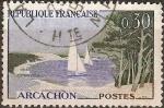 Sellos de Europa - Francia -  Serie turistica