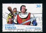 Sellos del Mundo : Europa : España : El capitan Trueno