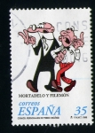 Sellos del Mundo : Europa : España : Mortadelo y Filemon