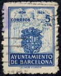 Sellos del Mundo : Europa : España : Ayuntamiento de Barcelona