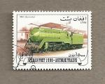 Sellos del Mundo : Asia : Afganistán : Trenes antiguos