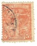Sellos del Mundo : America : Argentina : primer congreso postal panamericano