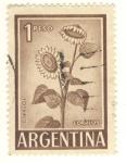 Sellos del Mundo : America : Argentina : girasol