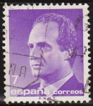 Sellos del Mundo : Europa : España :  ESPAÑA 1985 2796 Sello Nuevo Serie Basica Rey D. Juan Carlos I Efigie 7 pts c/s charnela Michel2688