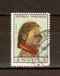 Sellos de Africa - Angola -  MUCHACHA  DE  ANGOLA