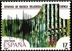 Sellos del Mundo : Europa : España :  ESPAÑA 1986 2841 Sello Nuevo Fiestas Populares Españolas Semana de Música Religiosa Cuenca Yvert2453