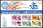 Sellos del Mundo : Europa : España :  ESPAÑA 1986 2860C Carné Sellos Nuevos V Centenario del Descubrimiento de America