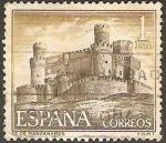 Sellos del Mundo : Europa : España : 1744 - Castillo Manzanares el Real en Madrid