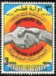 Sellos del Mundo : Asia : Qatar : Independencia 1971