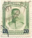Sellos del Mundo : Asia : Filipinas : General Antonio Luna