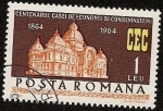 Sellos de Europa - Rumania -  Centenario -  CEC  - Central Cajas de ahorro