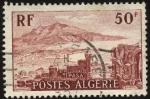 Sellos del Mundo : Africa : Argelia : 2000 años de TIPASA, ruinas romanas y macizo de CHENOUA.