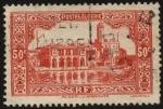 Sellos del Mundo : Africa : Argelia : Argel. Almirantazgo, Palacio de Marina y Faro Peñon.
