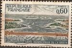 Sellos de Europa - Francia -  Usina maremotriz de la Rance
