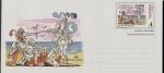 Sellos de Europa - España -  Escenas del Quijote - sobre prefranqueado