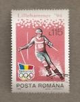 Sellos de Europa - Rumania -  Juegos olimpicos Invierno Lillehammer 94