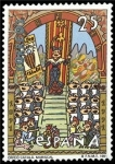 Sellos de Europa - España -  ESPAÑA 1991 3126 Sello Nuevo Cent. Orfeón Catalán Mosaico Palacio de la Música Barcelona Michel3000