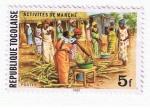 Sellos del Mundo : Africa : Togo : Activités de marché
