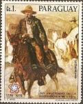 Sellos de America - Paraguay -  Bicentenario de la Independencia de los EE UU